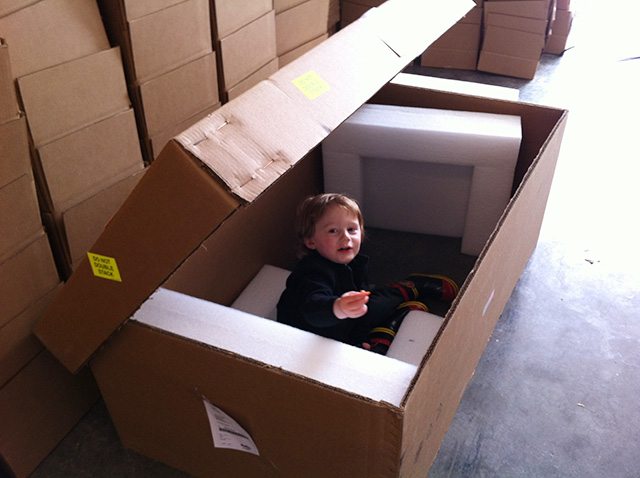 Playing in a box