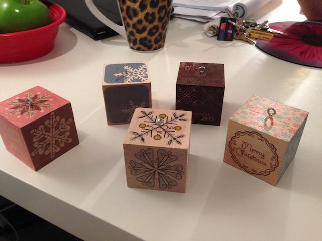 Blog ornaments