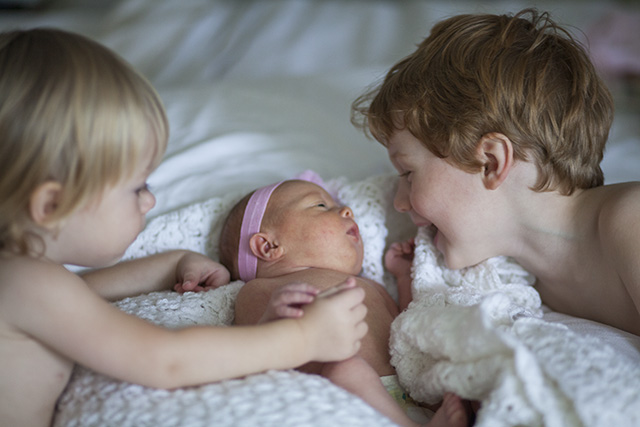 Chloe and boys