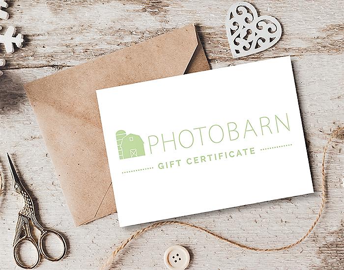 PhotoBarn Gift Certificates