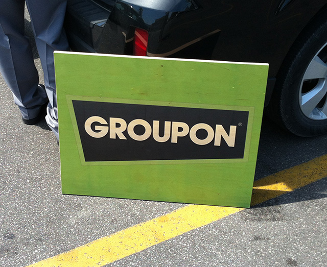 Groupon board