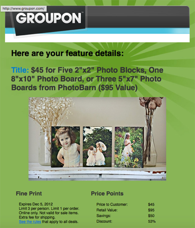 Groupon Deal