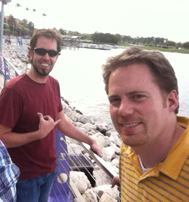 Matt and Todd in Orlando