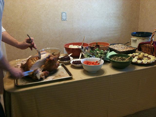Thanksgiving Spread 2011