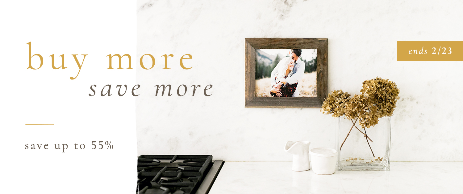 Buy More Save More | Save up to 55% | Ends 2/23