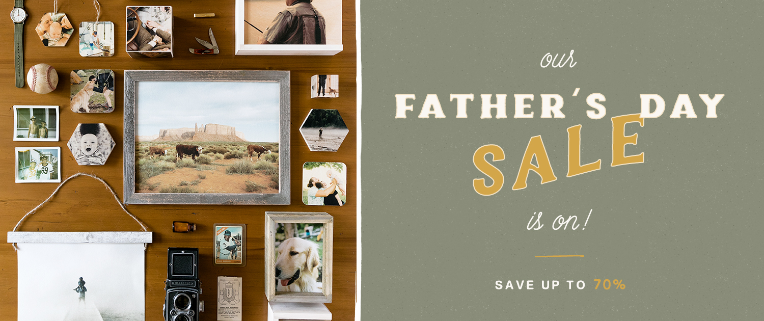 Our Father's Day Sale is on! Save up to 70%