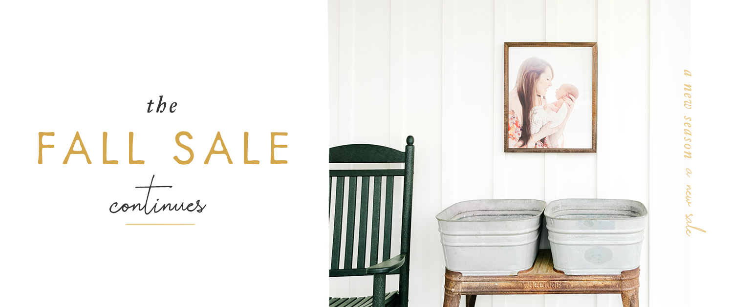 The Fall Sale Continues | A new season. A new sale.
