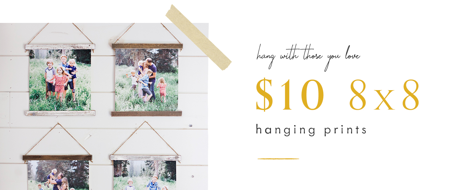 Hang with those you love   $10 8x8 Hanging Prints