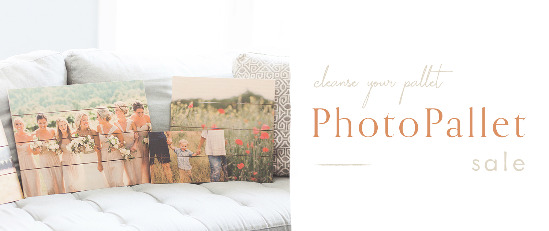 Cleanse your pallet   PhotoPallet Sale