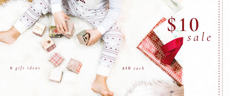 Ho Ho Ho | $10 Sale | 6 gift ideas, $10 each
