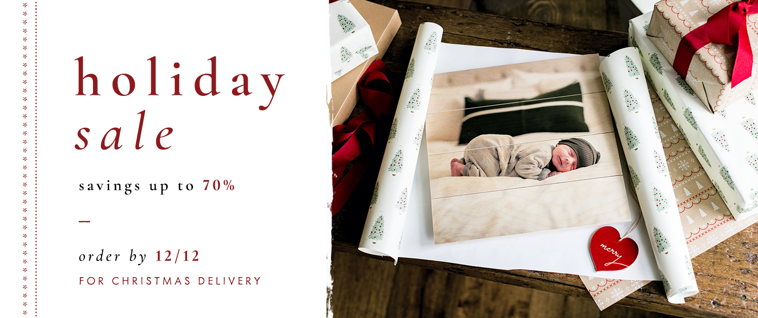 Holiday Sale | Up to 70% off select products | Order by 12/12 for Christmas delivery