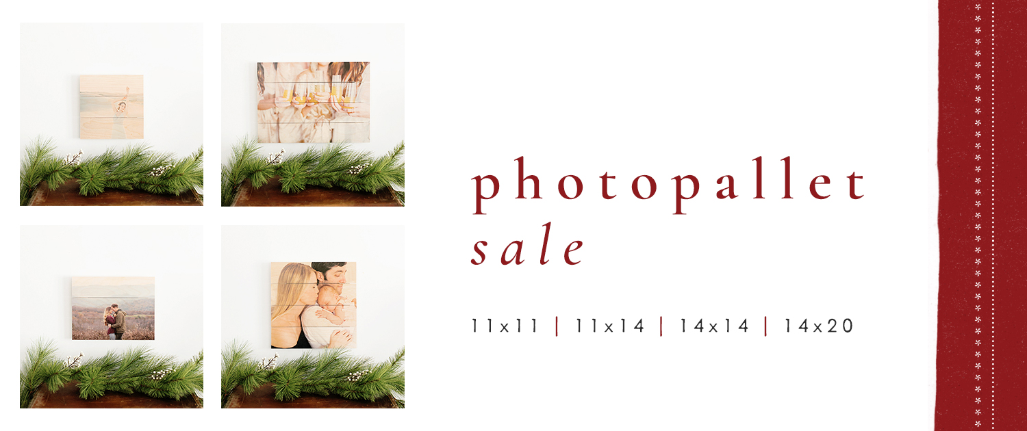 PhotoPallet Sale | 11x11, 11x14, 14x14 and 14x20 |