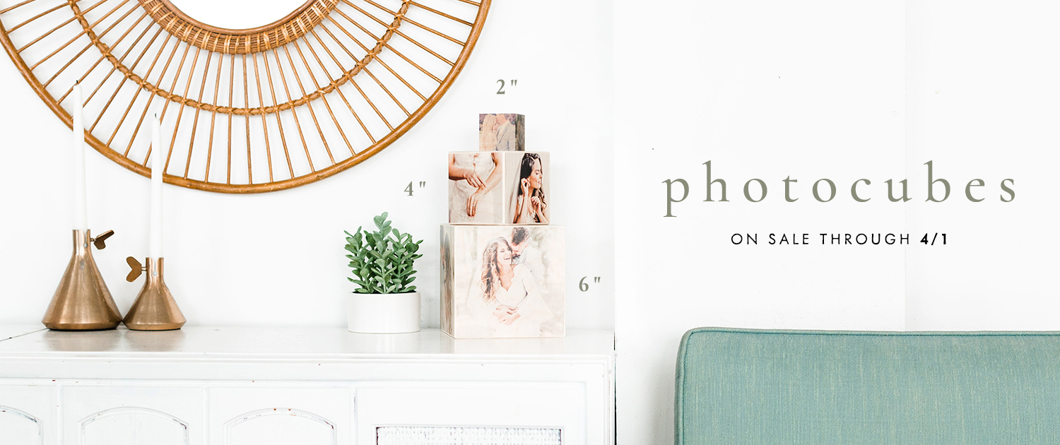 "PhotoCubes | 2"", 4"" and 6"" 