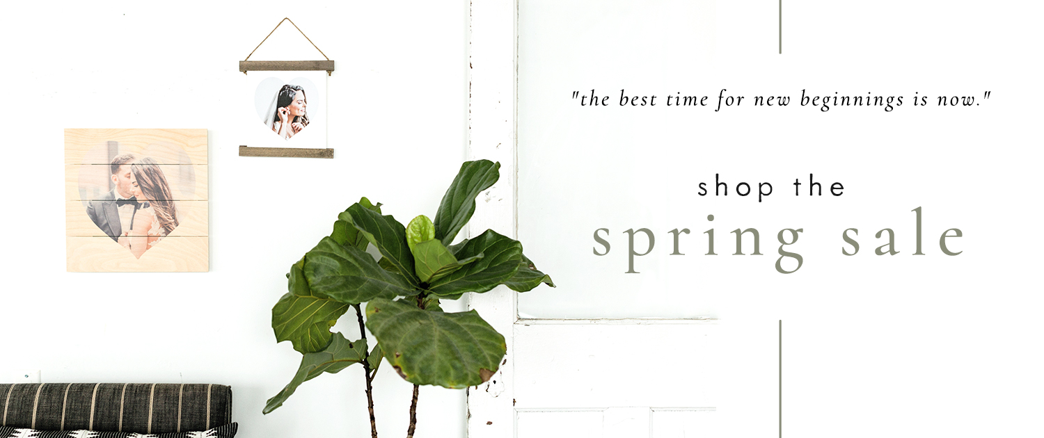"""The best time for new beginnings is now."" Shop the Spring Sale"