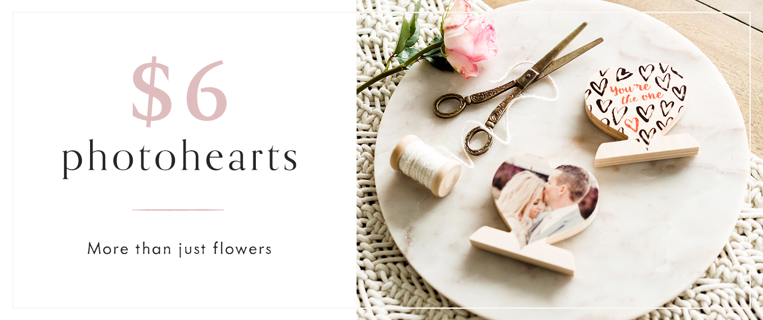 More than just flowers | $6 PhotoHearts