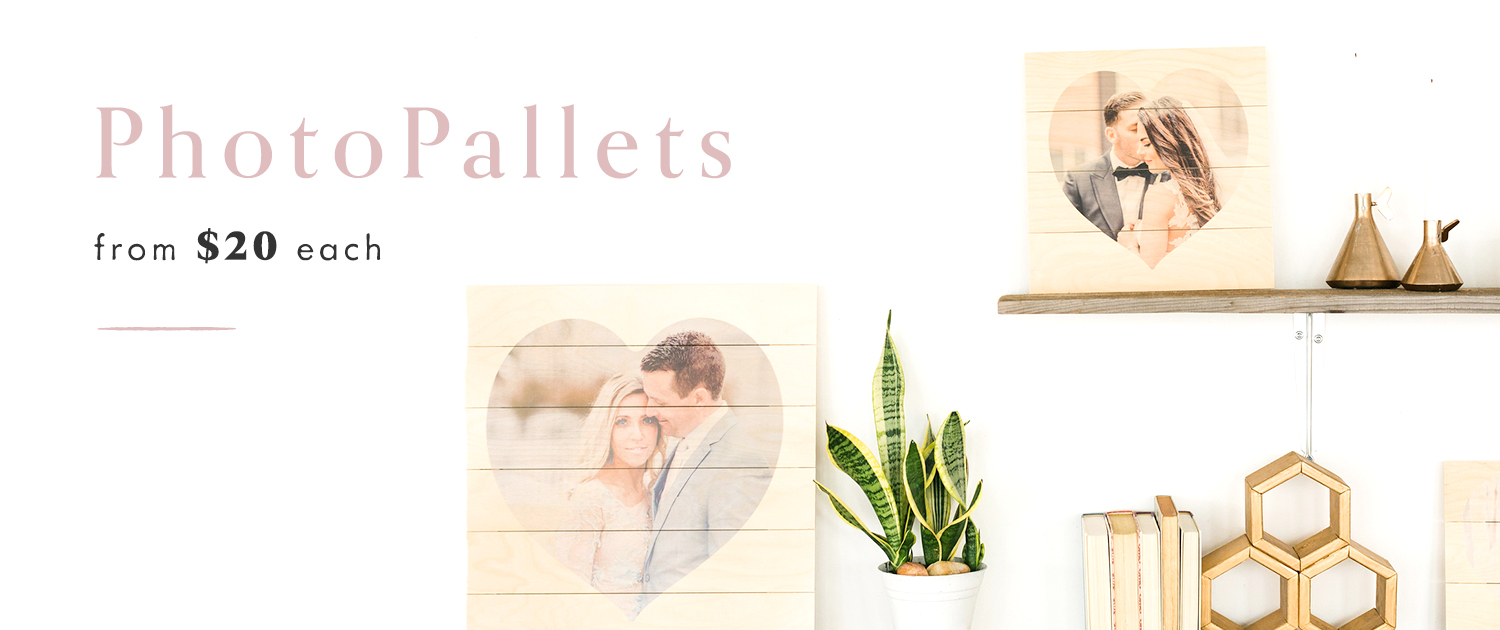 PhotoPallets | from $20 each