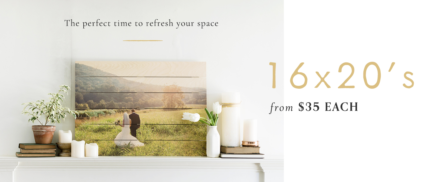 The perfect time to refresh your space | 16x20's from $35 each