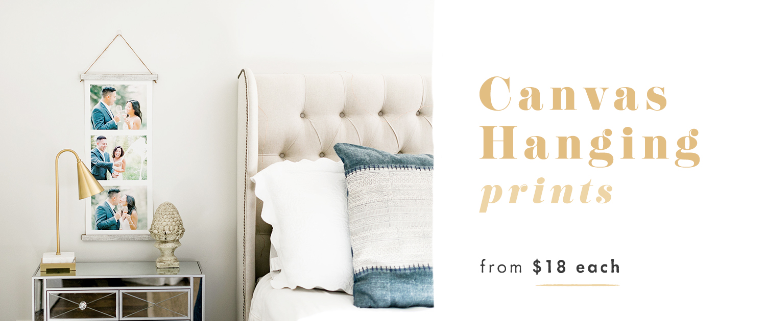 Canvas Hanging Prints from $18 each