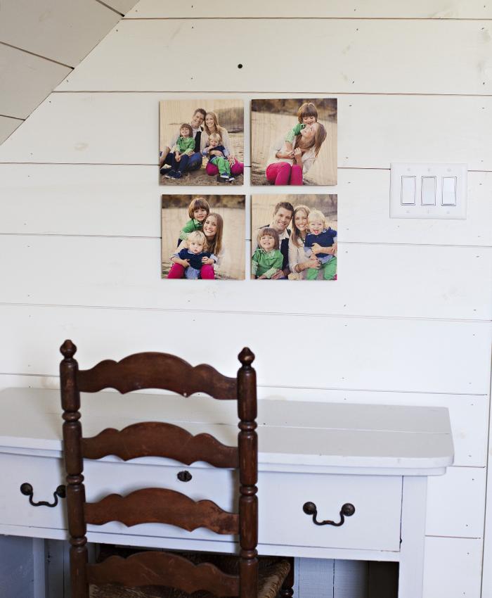 12x12 Standout Wood Print Grid $72 ($260)