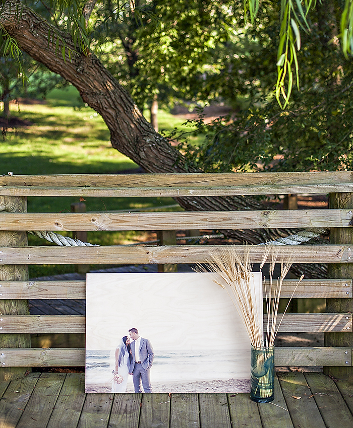 Pictured above: 24×36 PhotoBoard Printed images by @molliejanephotography