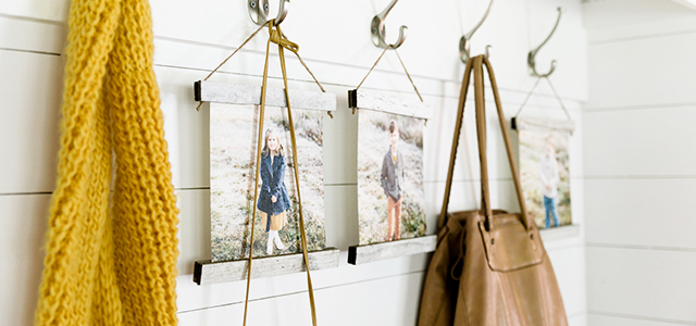 6 creative ways to use photos to organize your home