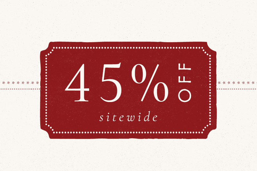 45% off sitewide | No code