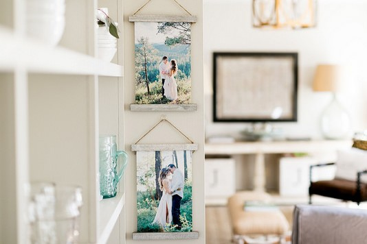 Burlap Hanging Print Collections