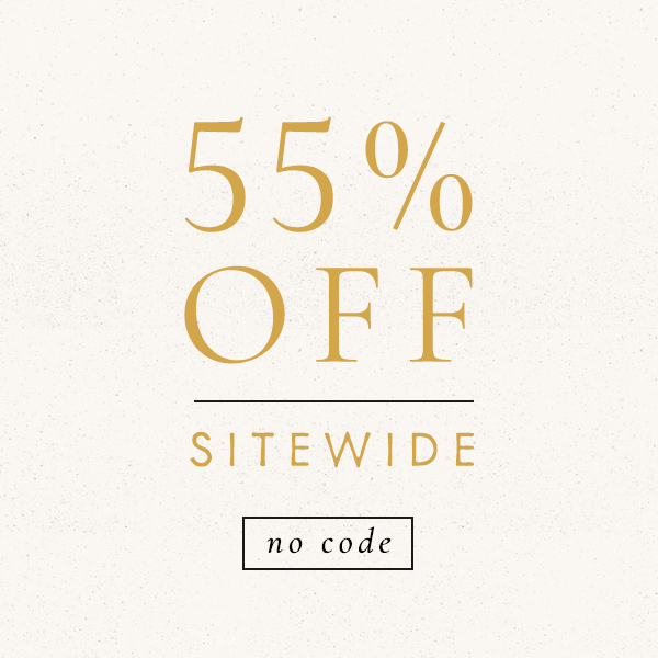 55% off sitewide | No code