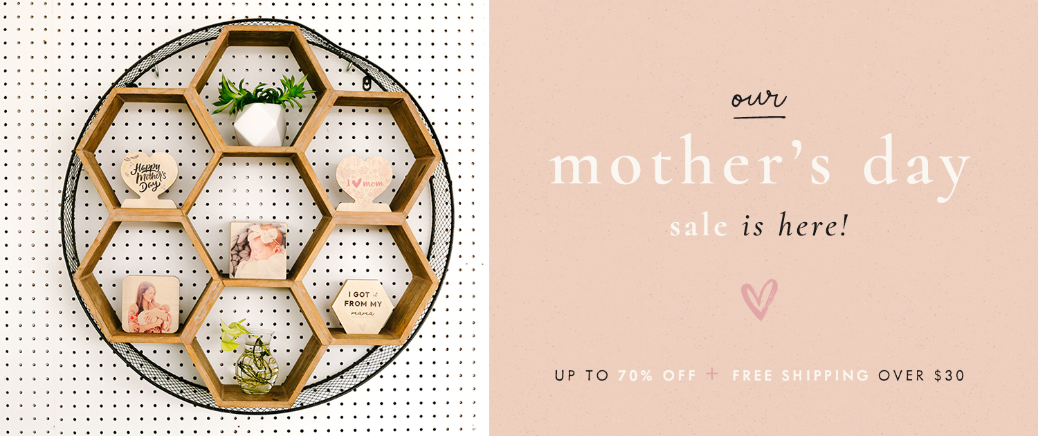 Our Mother's Day Sale is here! Up to 70% off + free shipping over $30