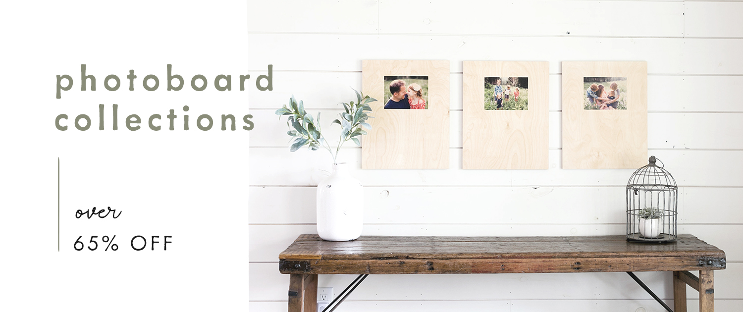 PhotoBoard Collections | Over 65% off