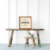 12×12 crate wood sign