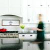 12×36 framed pearlboard sign kitchen 2