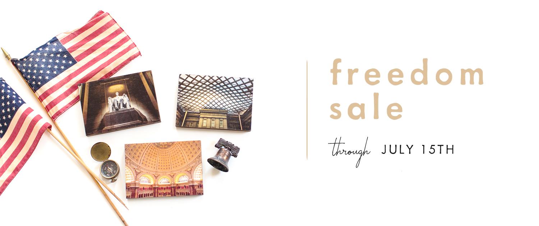 Freedom Sale | Through July 15th