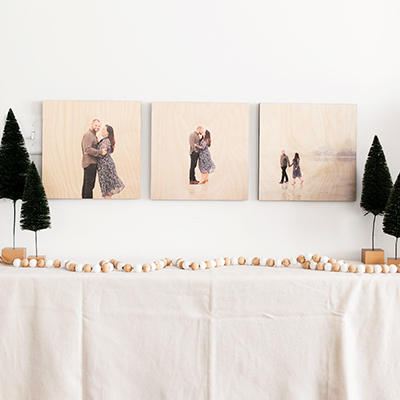 3 8x8s PhotoBoard Collection   $44 ($105)