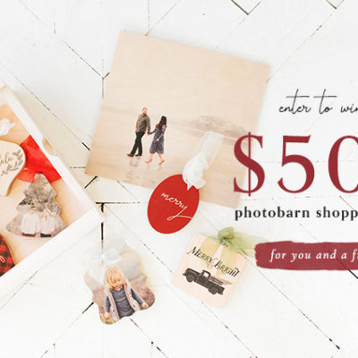 Enter to win a $500 PhotoBarn Shopping Spree