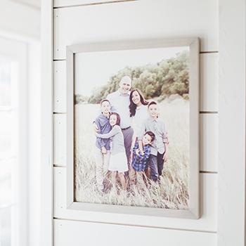 20x24 Framed Print with Farmhouse Frame