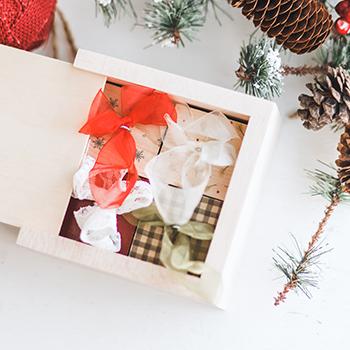 4x4 PhotoBox with 4 PhotoBlock Ornaments