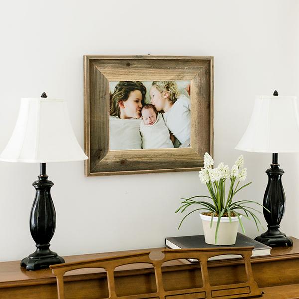 8x10 Framed Burlap | $19 ($60)