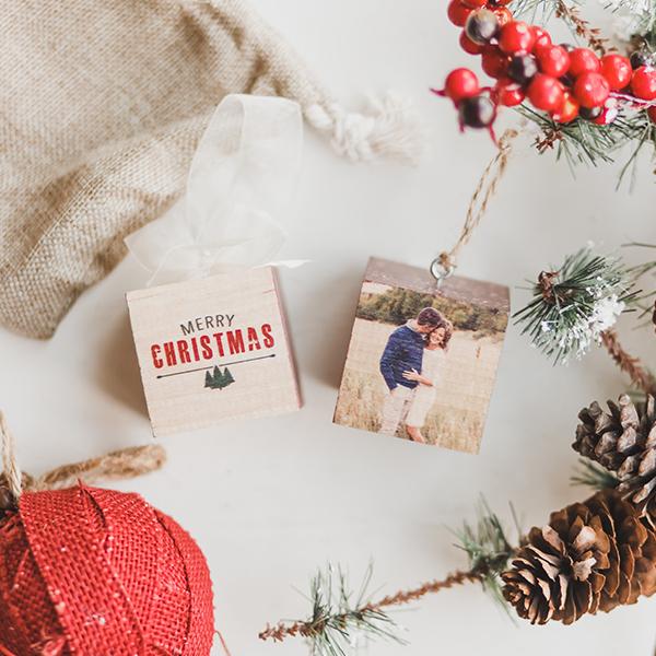 PhotoBlock Ornaments | $12 ($30)