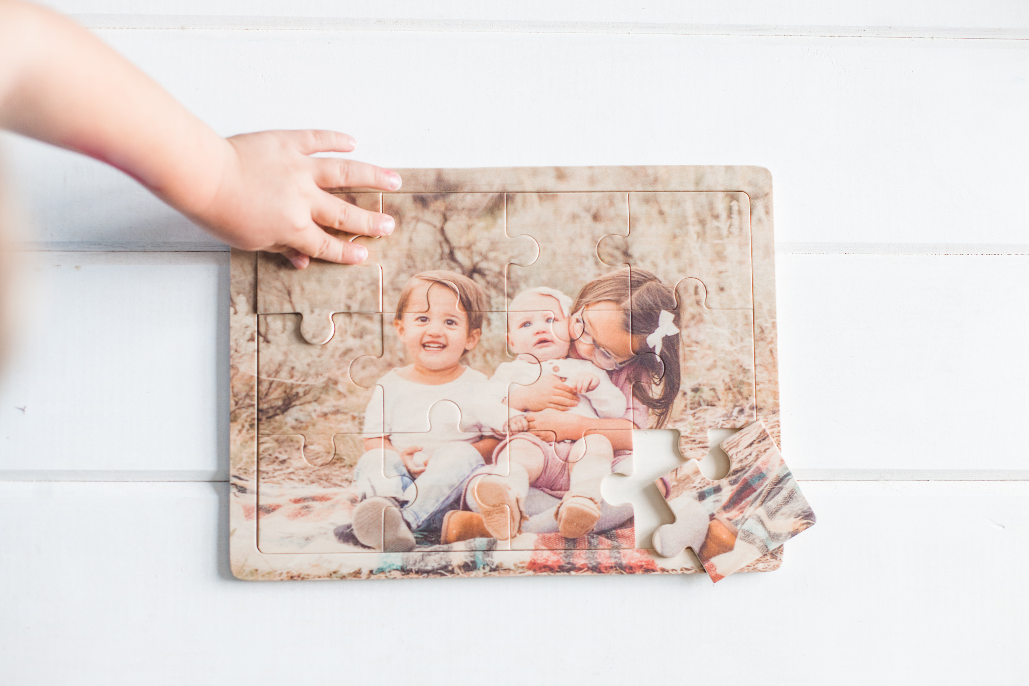 Wooden Photo Puzzle