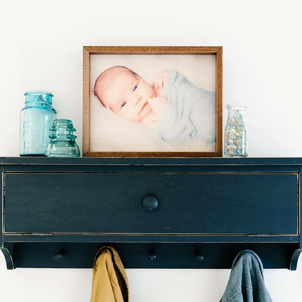 8x10 Framed Burlap | $18 ($60)