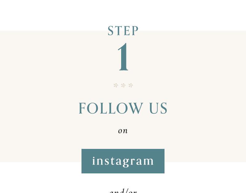 1) Follow PhotoBarn on Instagram