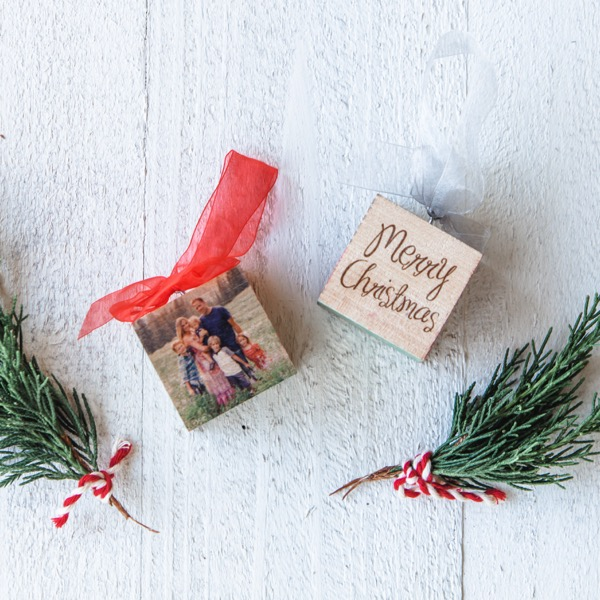 PhotoBlock Ornaments | $12 ($30)