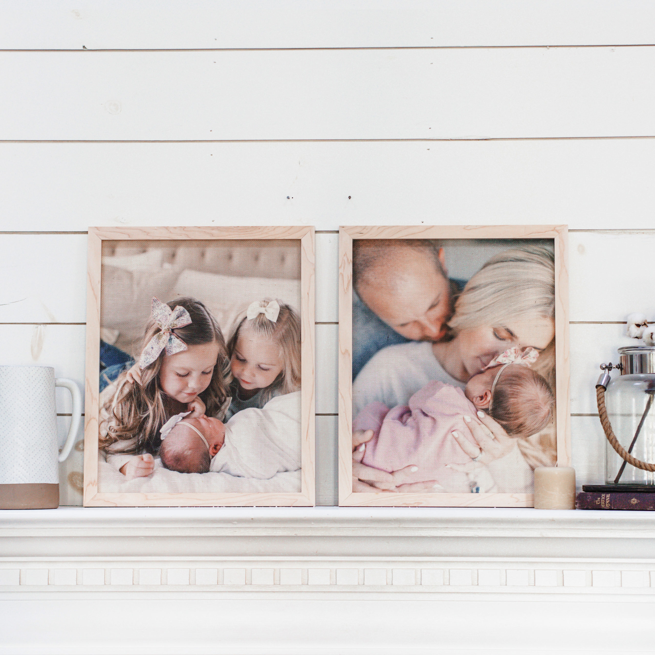 16x20 Framed Burlap Prints | $42 ($140)