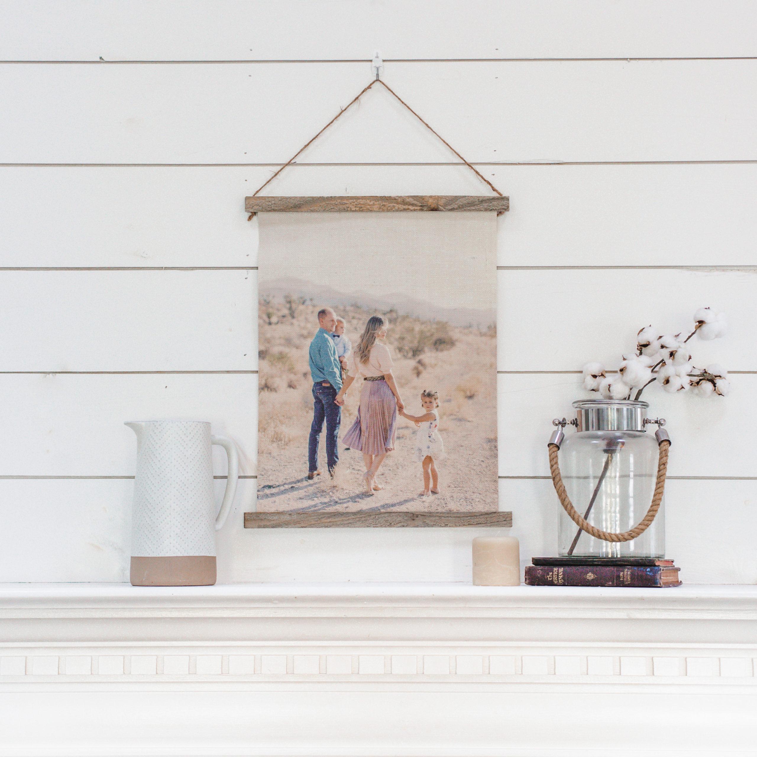 16x20 Hanging Burlap Prints | $29 ($135)
