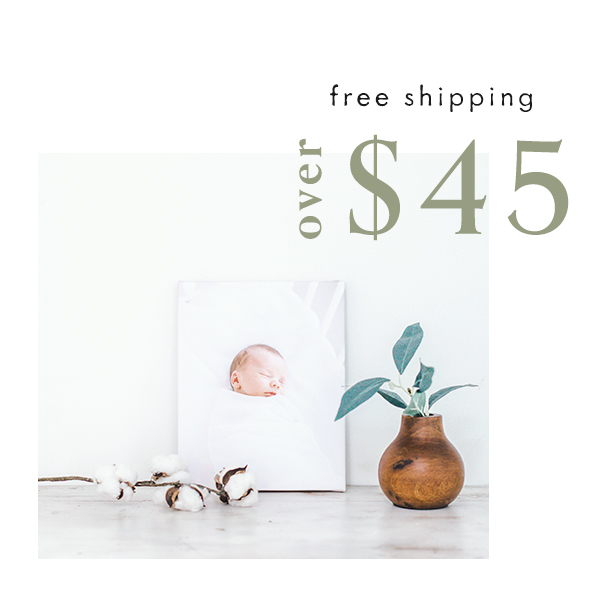 Free shipping over $45